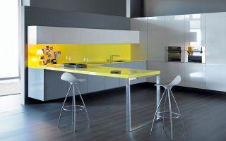 Дизайн пола на кухне (48 фото): гостиная, совмещенная с кухней с серым, черным и светлым полом