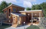 Строительство дома из клееного бруса – технология сборки +фото-видео