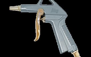 Продувочный пистолет для компрессора. как правильно выбрать?