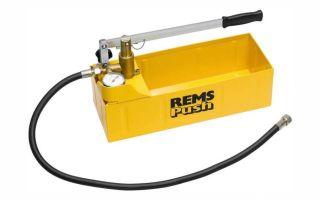 Ручной опрессовочный насос. проверка систем на герметичность