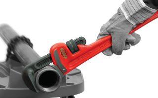Ключ газовый. размеры по номерам