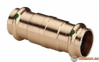 Фитинги для медных труб: виды и 5 методов соединения