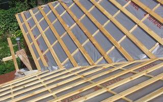 Обрешетка крыши под профнастил: расчет шага и особенности монтажа