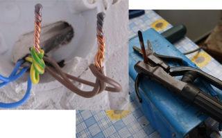 Графитовый электрод. сварка медных проводов
