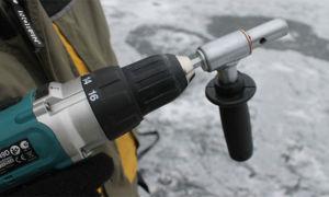 Адаптер для ледобура под шуруповёрт. хитрость профессиональных рыбаков