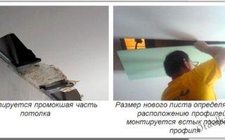 Способы устранения трещин на потолке из гипсокартона – причины возникновения