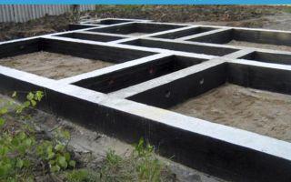 Мелкозаглубленный ленточный фундамент с монолитной плитой перекрытия