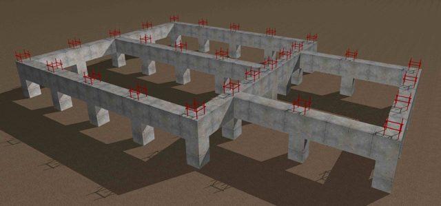 Особенности монолитного ростверка и его применение в строительстве