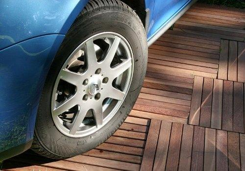 Пол в гараже: что лучше, чем его покрыть, как сделать из тротуарной или керамической плитки