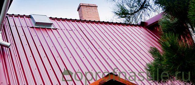 Кровельный профнастил - какой материал можно применять на крышах