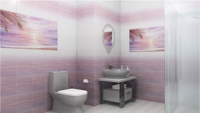 Ванная комната из пластиковых панелей: виды панелей и советы по отделке