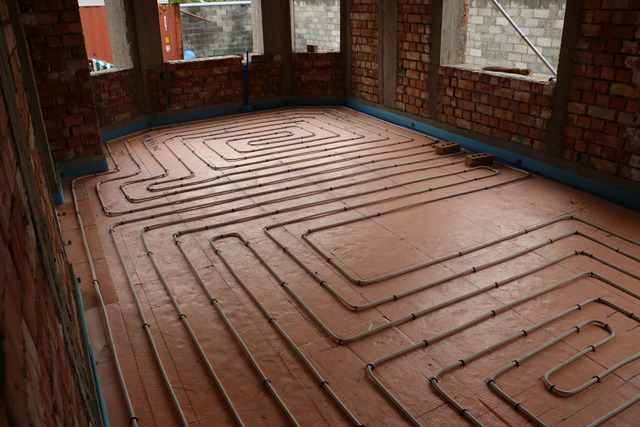 Отопление каркасного дома своими руками (схемы, фото, видео)