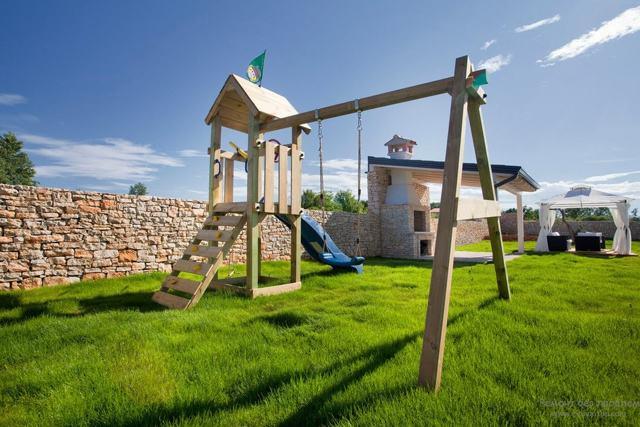 Идеи для детской площадки на даче: как обустроить, оформление и ландшафтный дизайн