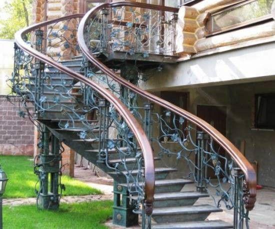 Входная лестница в дом – технология и тонкости монтажа + Видео