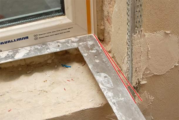 Как правильно сделать штукатурку откосов своими руками, видео инструкции штукатурки дверных откосов, а также особенности выравнивания оконных проемов