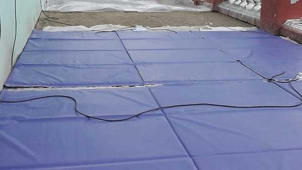 Прогрев бетона в зимнее время: проводами, кабелем, термостатами, электродами, сварочным аппаратом