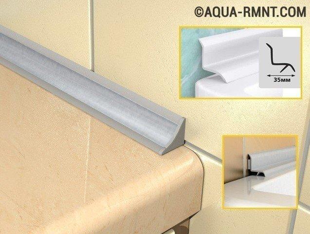 Как приклеить бордюр на ванну: разбор правил укладки инструкция по установке