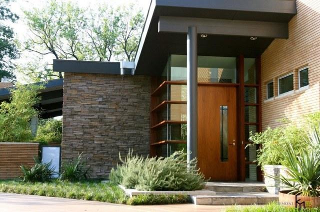 Отделка входа в частный жилой дом - как его красиво оформить