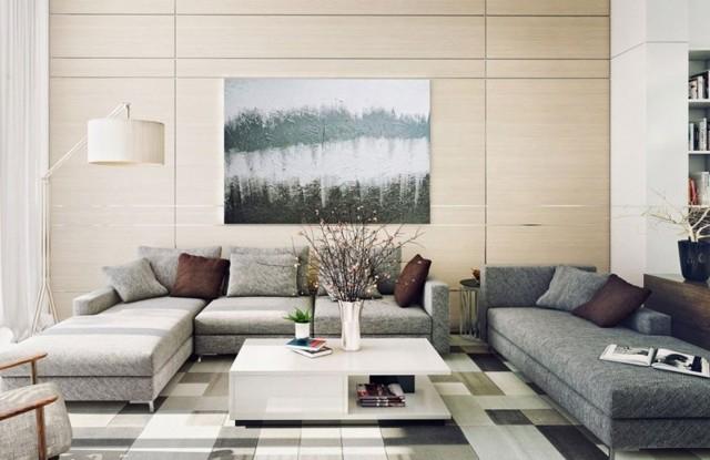 75 современных идей дизайна двухкомнатной квартиры