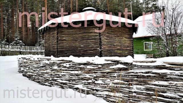 Плетеный забор своими руками: плетенка из досок, веток
