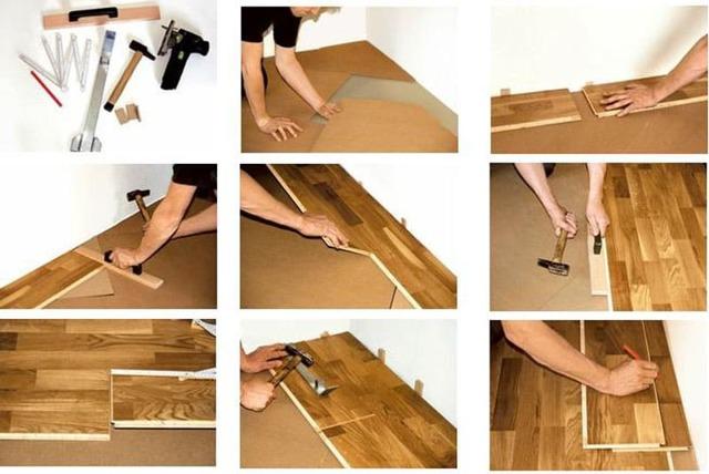 Особенности плавающей укладки паркетной доски на бетонную стяжку с подложкой: Пошаговая инструкция +Фото и Видео