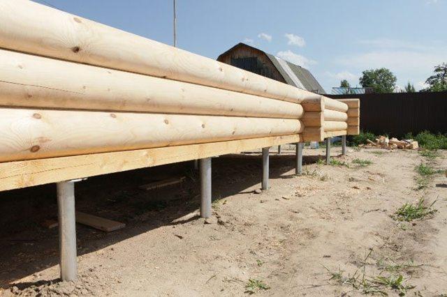 Проект свайного фундамента под деревянный дом – краткий список, расчеты и чертеж