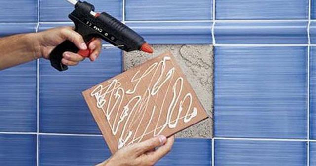 Как приклеить плитку на металл: советы, популярные средства