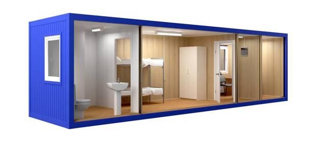 Как обустроить бытовку внутри: спальное место, санузел, фото интерьеров