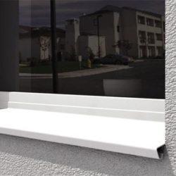 Отливы для пластиковых окон: размеры и технология установки