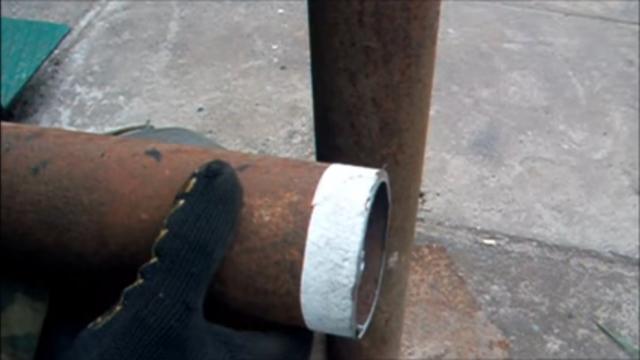 Как отрезать трубу под 45 градусов: все возможные варианты