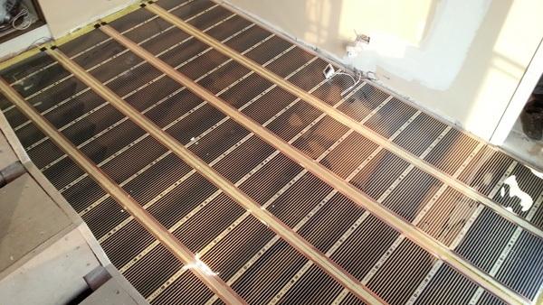 Инфракрасный теплый пол, плюсы и минусы выбора ИК систем напольного обогрева