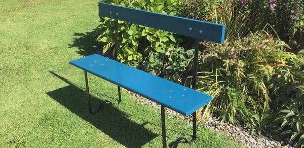 Скамейки для дачи из металла и дерева: эскизы, как сделать со спинкой и для кладбища