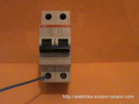 Подробная инструкция как подключить автоматический выключатель