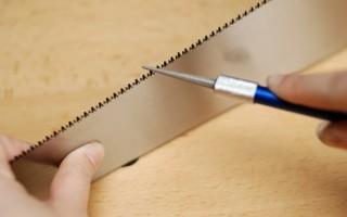 Как правильно затачивать ножовку по дереву: как определить, когда пора точить пилу, пошаговая инструкция по заточке