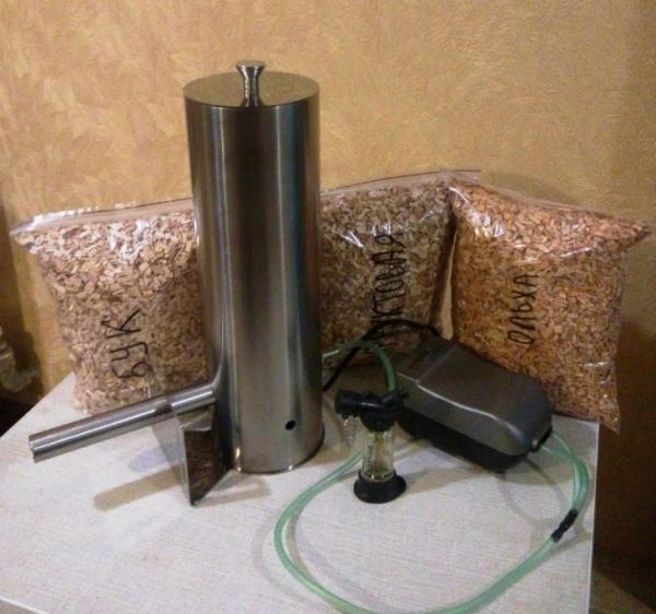 Дымогенератор для холодного копчения: сборка из подручных средств