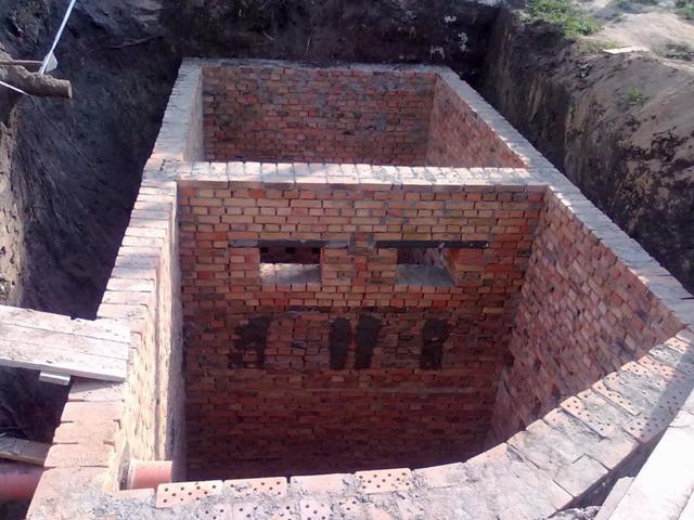 Как устраивается сливная яма для бани: фото, видео