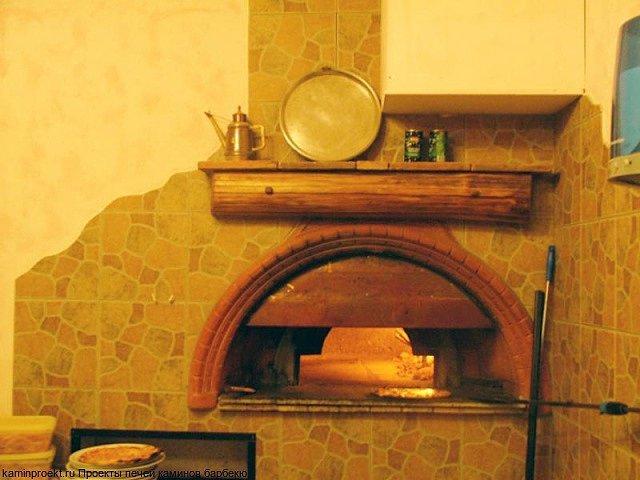 Постройка помпейской дровяной печи для пиццы своими руками, чертеж и порядовка, особенности конструкции