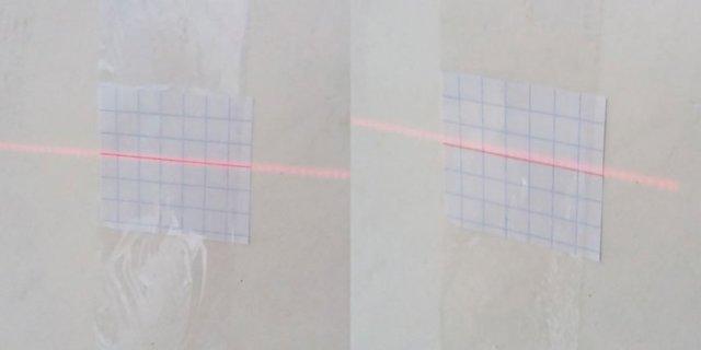 Лазерный уровень своими руками, юстировка, калибровка