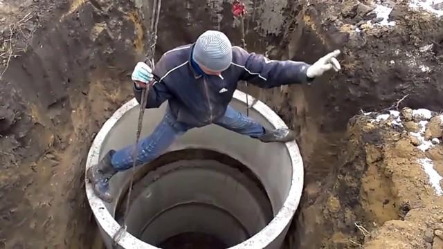 Глубина выгребной ямы в частном доме для канализации и туалета на даче: чертежи, размеры, оптимальные диаметр