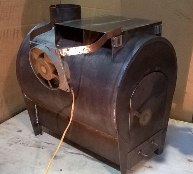 Печь для гаража на отработанном масле своими руками: достоинства и недостатки, изготовление масляной печки на отработке, чертежи