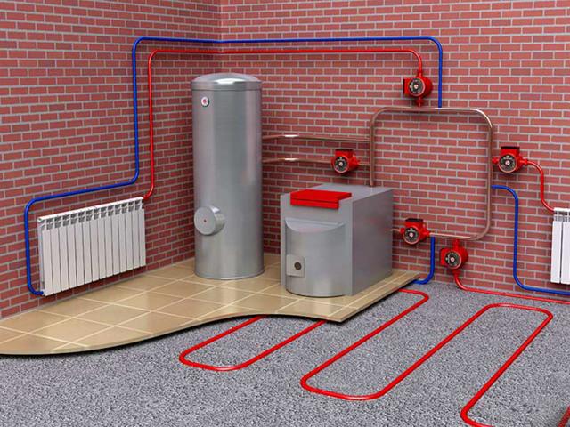 Разводка отопления в частном доме: схема от котла, как правильно провести, устройство, как сделать разводку батарей, как развести