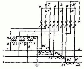 Схема подключения трехфазного счетчика своими руками на 380 вольт