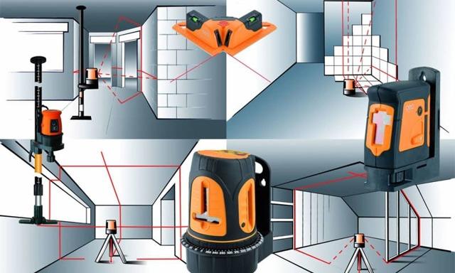 Как правильно пользоваться лазерным уровнем для выравнивания пола, стены видео инструкции