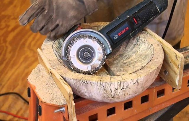 Можно ли дерево пилить болгаркой - как резать доски и бруски углошлифовальной машиной