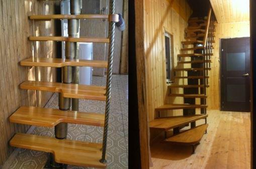 Чердачная лестница с люком: размеры, чертеж и видео