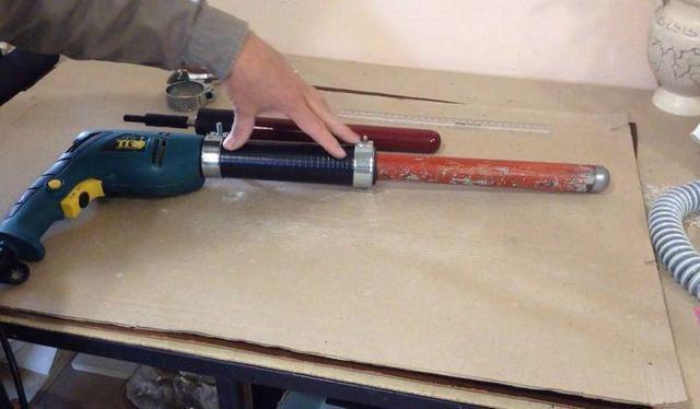 Вибраторы для бетона своими руками: чертежи как сделать из дрели или перфоратора