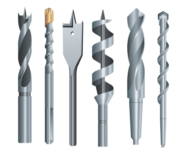 Как выбрать буры для перфоратора - коронки зубила и прочие насадки