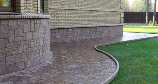 Строительство цоколя для дома, размеры , высота и ширина