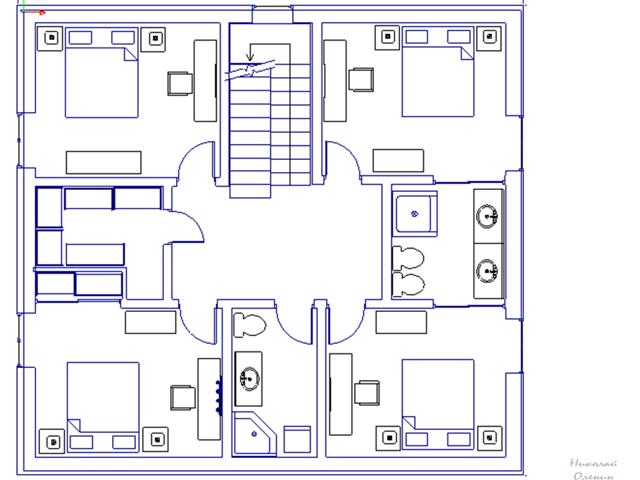 Рекомендуемый состав и размеры помещений в частном доме