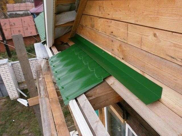 фронтоны деревянных домов - чем обшить козырек и покрасить